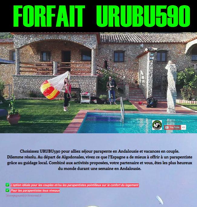 URUBU590 │ Algodonales │ 1P/7J