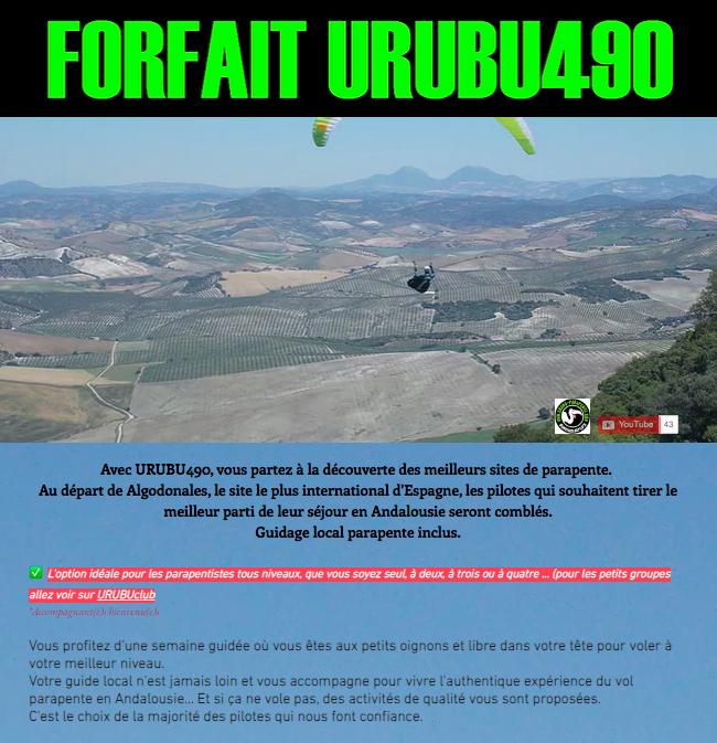 URUBU490 │ Algodonales │ 1P/7J