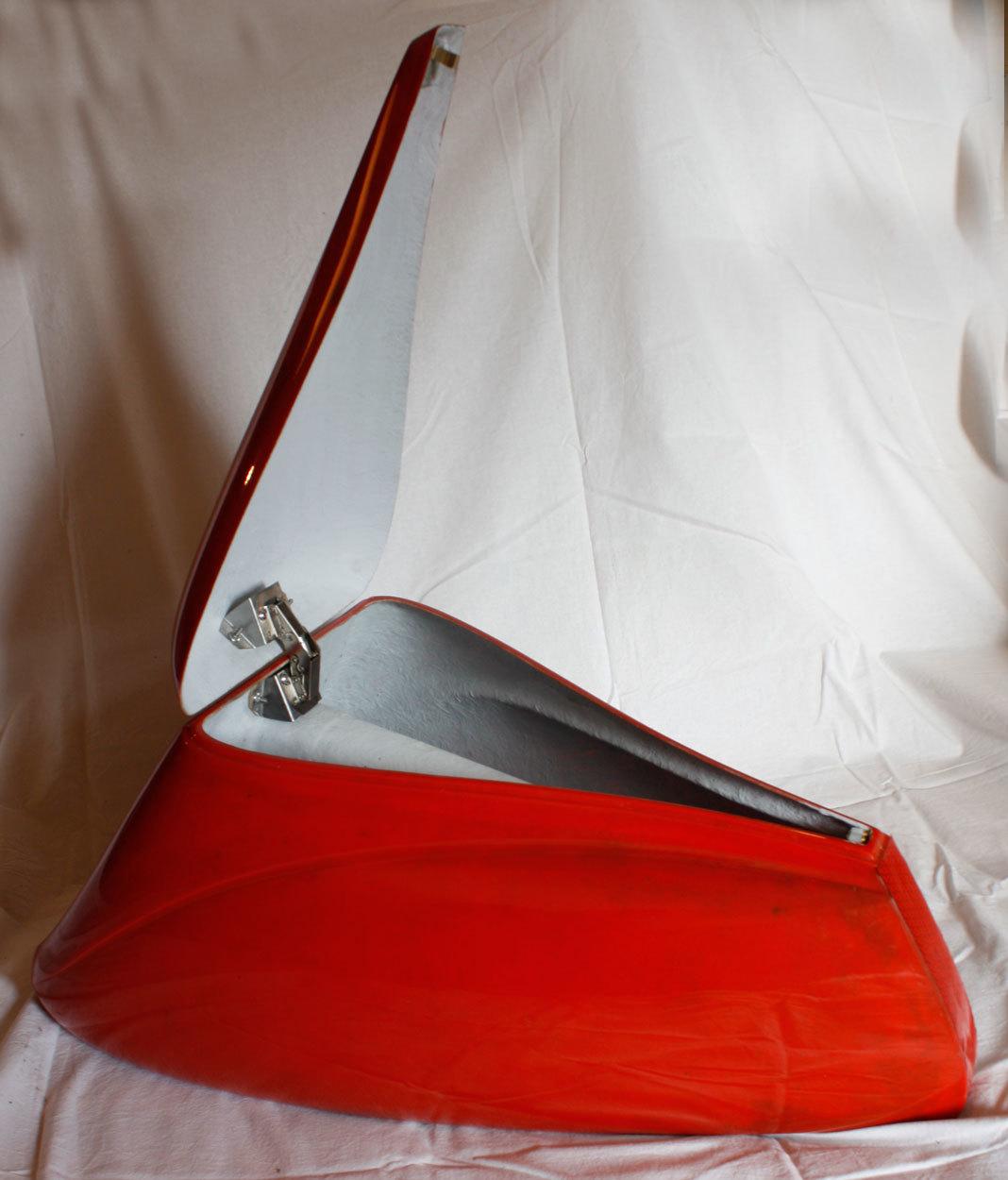 Tailbox Dolphin Fiberglass - Shipping Cost FREE!