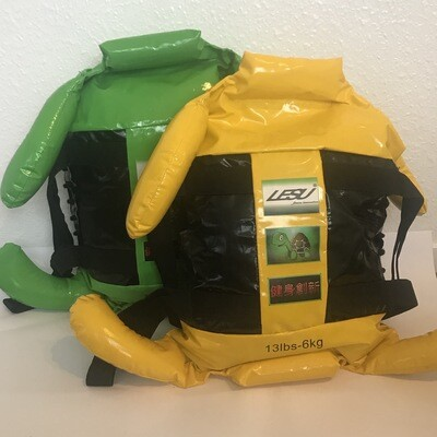 LESU TURTLE BAG - FREE sparring mitts (Yellow 6kg)