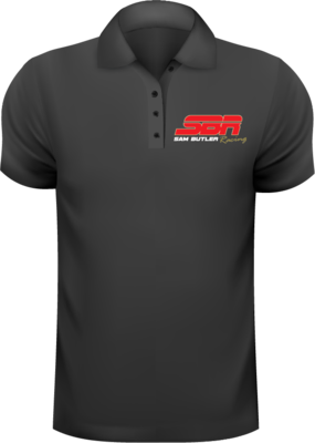 Sam Butler Embroidered Polo Shirt