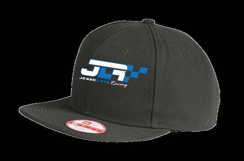 Jesse Love Logo Flat Bill Hat