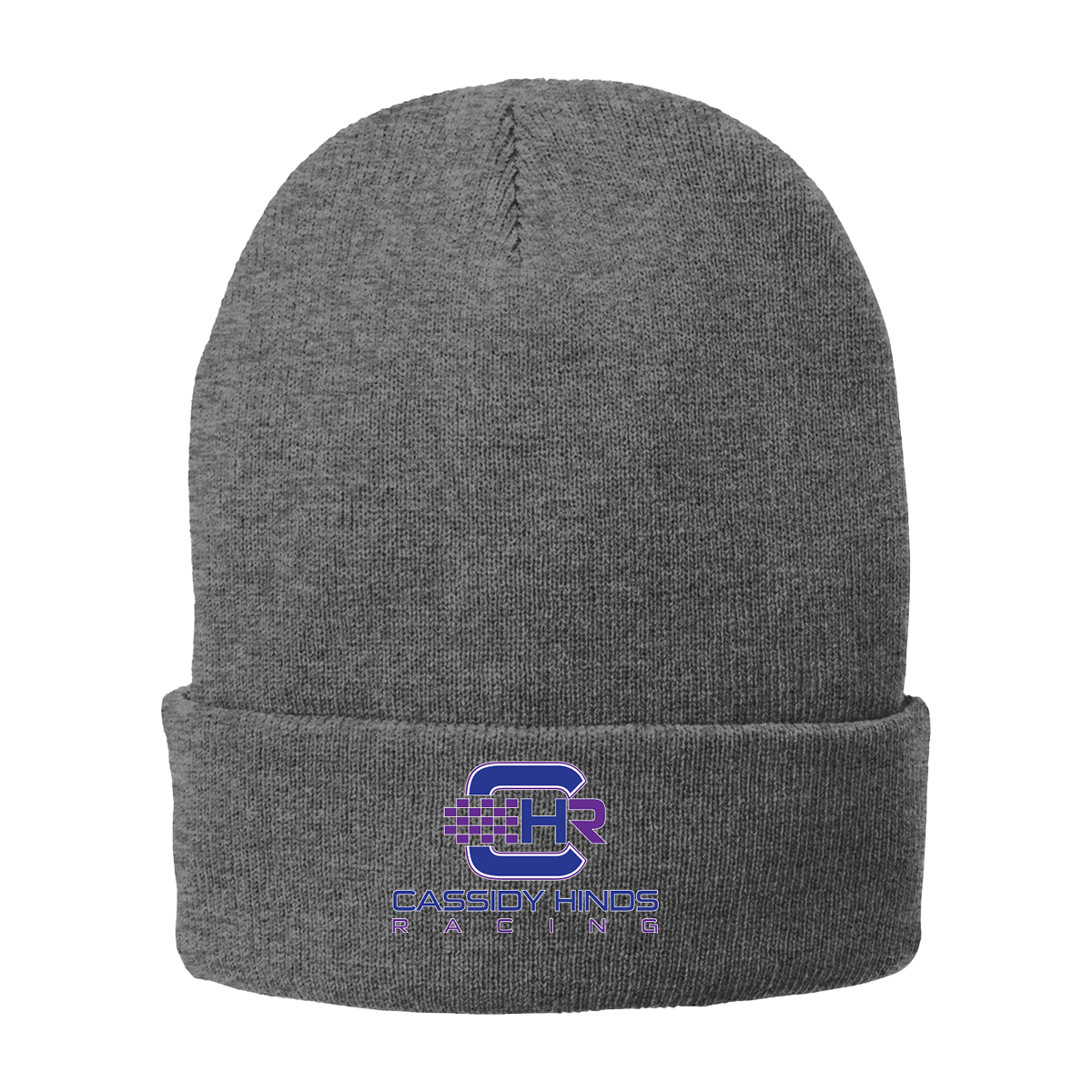 Cassidy Hinds Port & Company Fleece-Lined Knit Cap