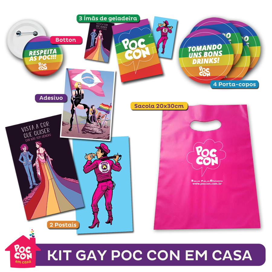 Kit Gay Poc Con Em  Casa kit-casa