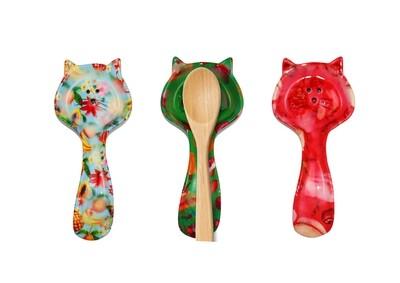 Spoon holder Caramel