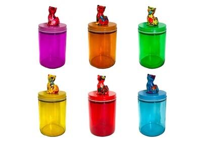 Glass Jar Caramel