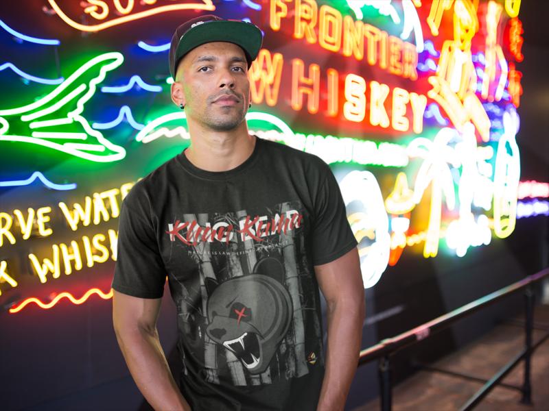 Khan Kuma   King Bear T-Shirt (Printed)