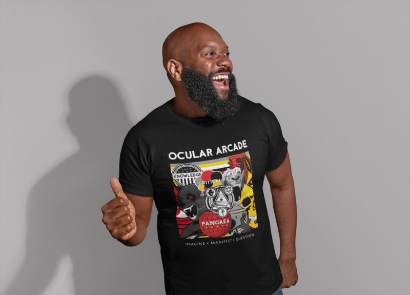 Ocular Arcade T-Shirt (Printed)