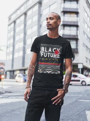 Black Future T-Shirt (Printed)