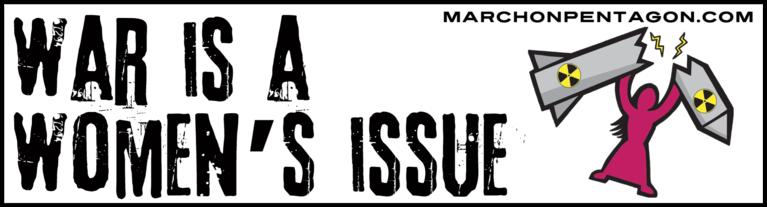 War Is A Women's Issue Bumper Sticker
