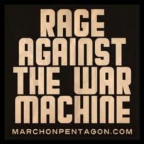 Rage Against the War Machine Square Sticker