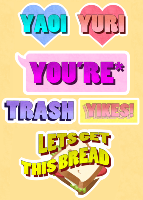 Speech Stickers
