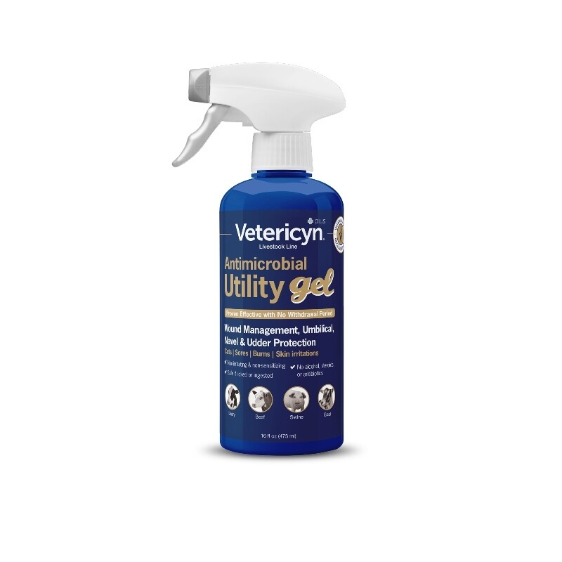 Vetericyn Antimicrobial Utility Gel Spray