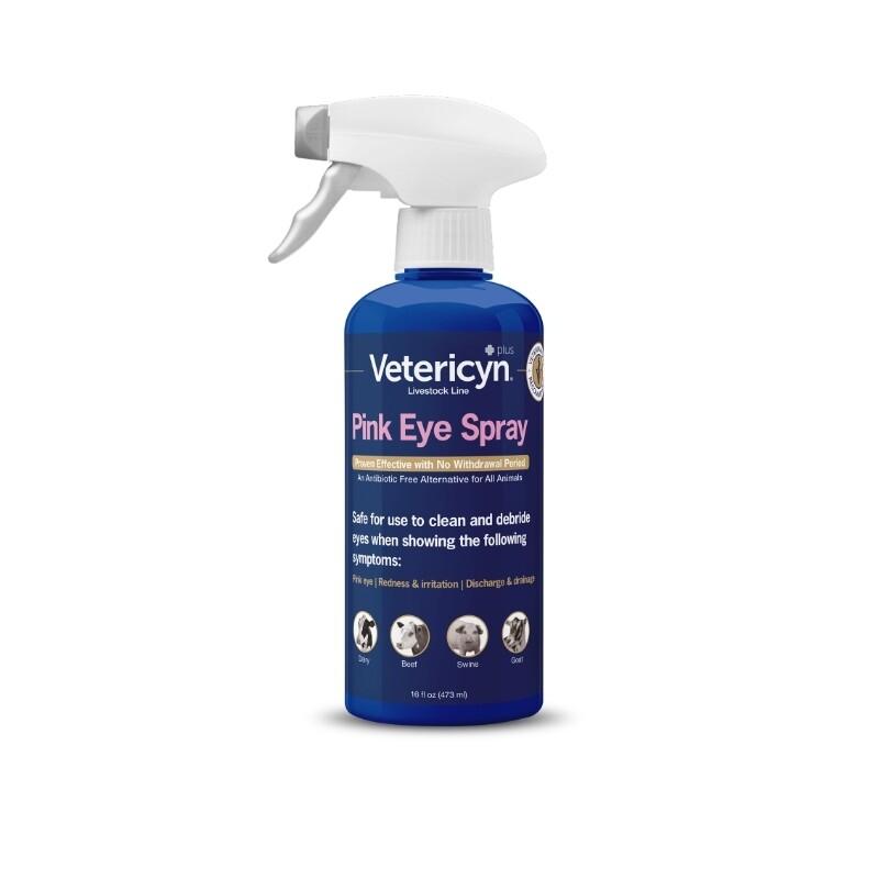 Vetericyn Plus Antimicrobial Pink Eye Spray