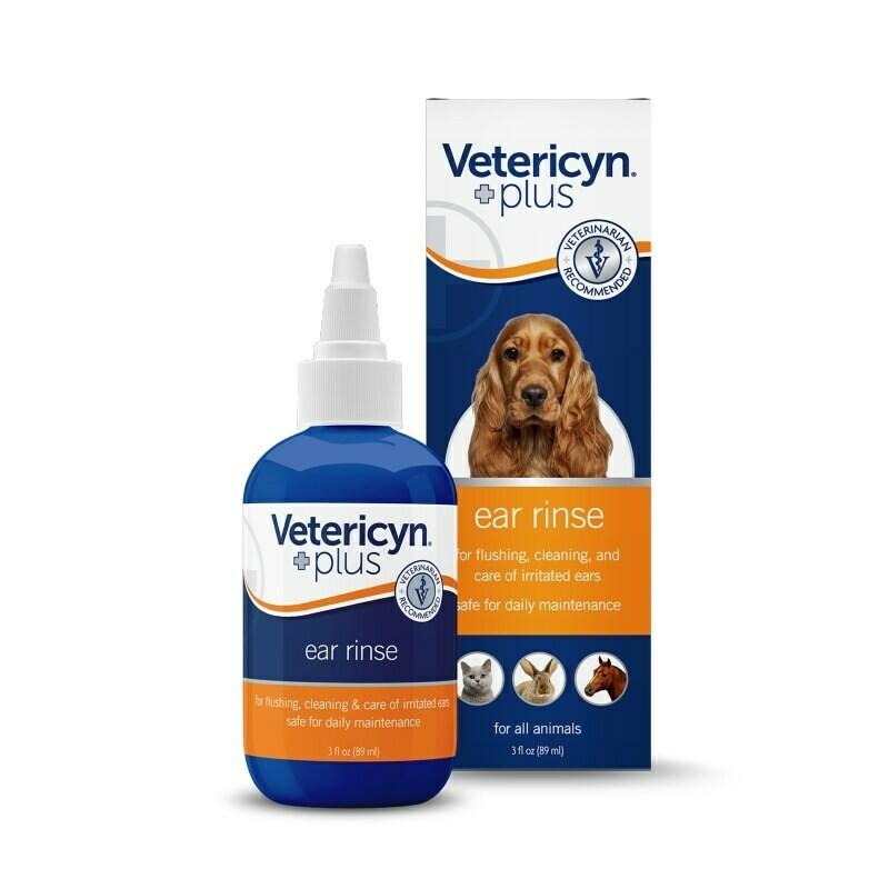 Vetericyn Plus Alle Dieren Oorzorg