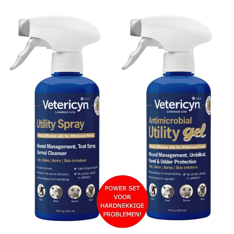 Vetericyn Alle Dieren Super Power Set (veterinaire formule)