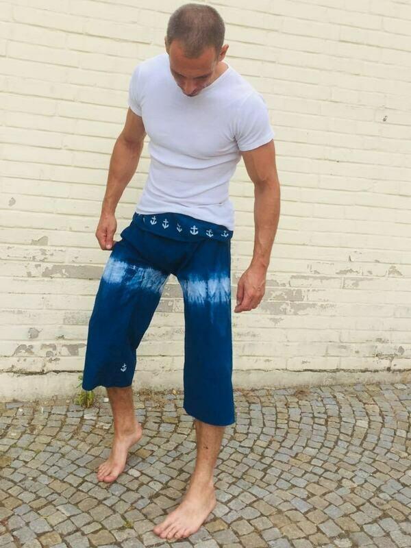 Kalhoty Indigo