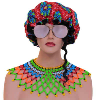 African Satin Bonnets Collection 1