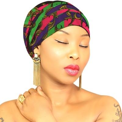 African Head Wraps - Ubuntu Queen