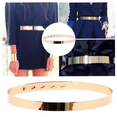 Gold Mirror Belt