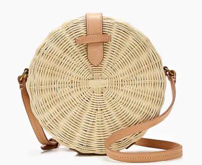 Round Straw Style Bag - Eco Friendly Bag