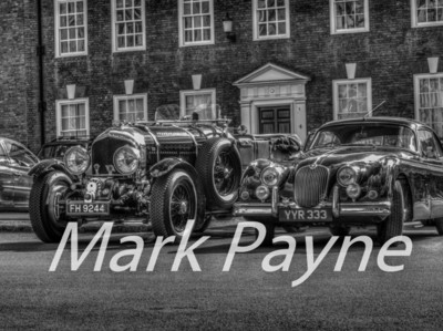 Classic Cars Photo Canvas