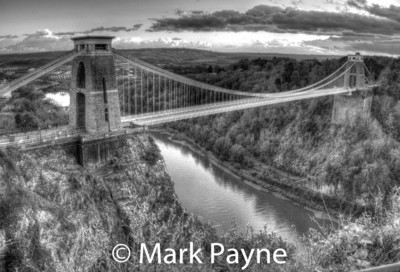Clifton Suspension Bridge Black & White