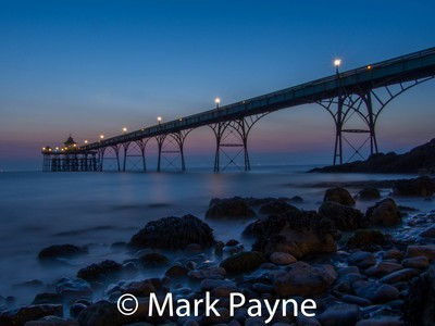 Clevedon Pier with Stones