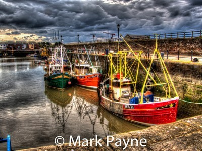 Mary Port with Fishing Boats