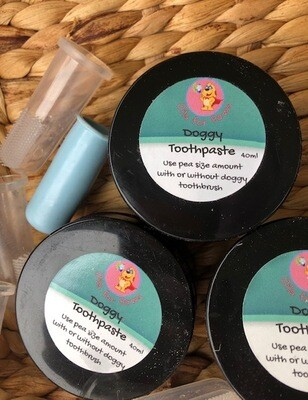 Doggy Toothpaste