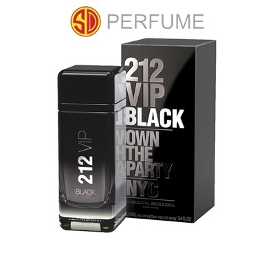 Carolina Herrera 212 VIP Black EDT Men 100ml