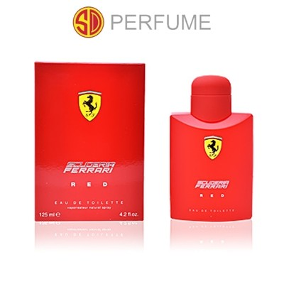 Ferrari Scuderia Ferrari Red Men EDT 125ml