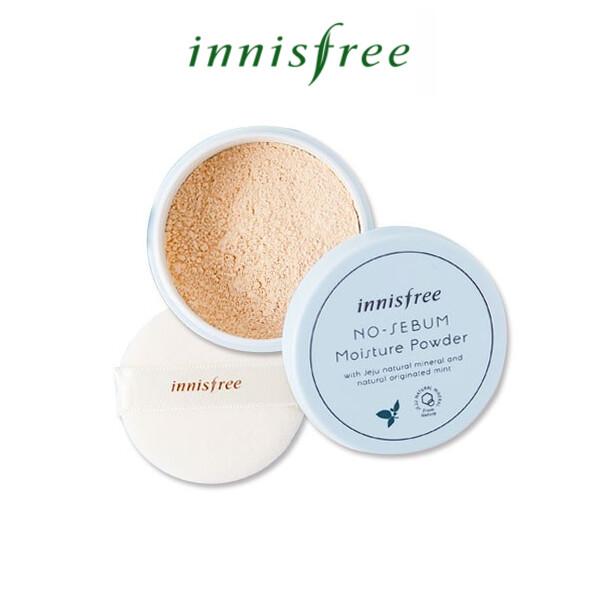 [Innisfree] No sebum Moisture Powder (Expiry in 2021/22)