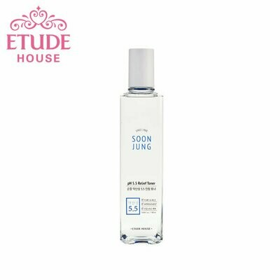 [Pre-Order] Etude House - Soon Jung Ph 5.5 Relidf Toner 180ml