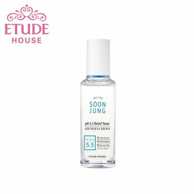 [Etude House] Soon Jung Ph 5.5 Relidf Toner 80ml