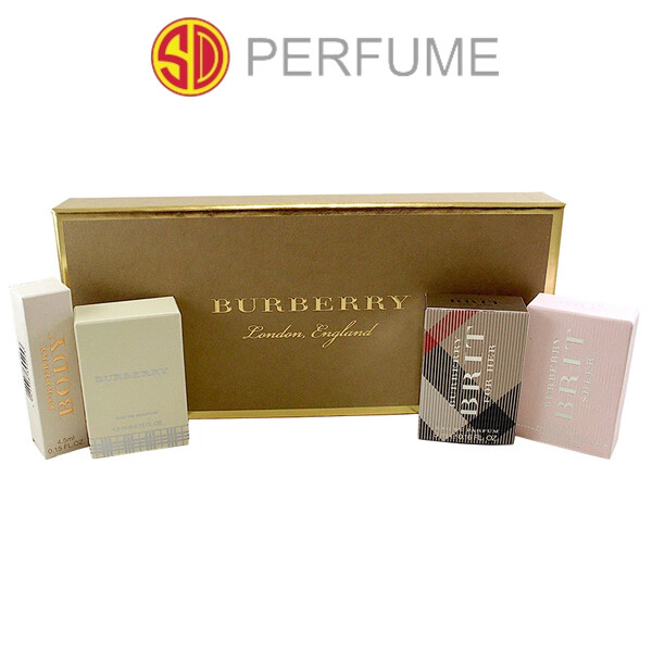 Burberry Lady Gift Set - 4 Burberry Mini Lady Perfumes