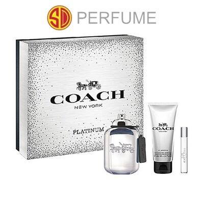 Coach Platinum Men 2019 X'mas Gift Set