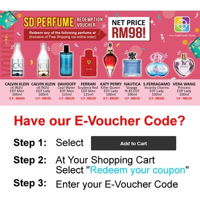 Limited Time offer: Redeem Selected Perfumes at RM98!
