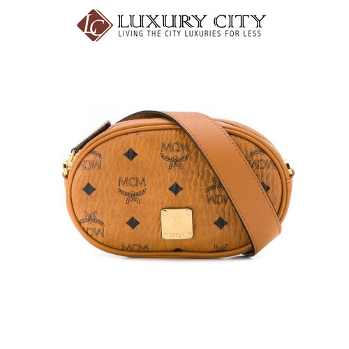 [Luxury City] Mcm Repeat Logo Belt Bag Mcm-MWZ9SSE09 (Brown)