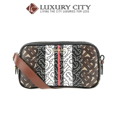 [Luxury City] Burberry Printed Fabric Crossbody Bag Burberry-8025170