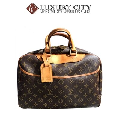 [Luxury City] Preloved Authentic Louis Vuitton (M47270) Monogram Deauville Boston