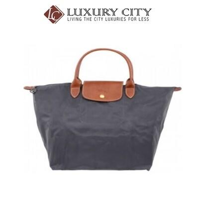 [Luxury City] Longchamp Le Pliage Ladies Medium Nylon Tote Handbag Grey Longchamp-L1623089