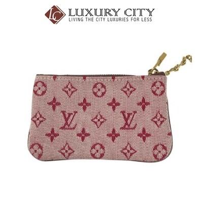 [Luxury City] Preloved Authentic Louis Vuitton (M47270) Monogram  Pink Keypouch