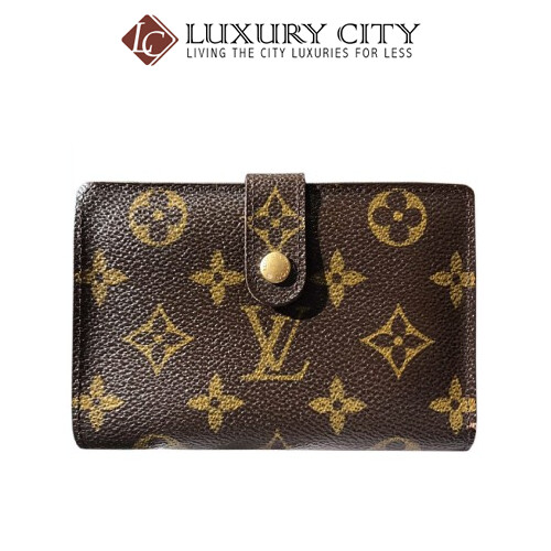 [Luxury City] Preloved Authentic Louis Vuitton Monogram Short Wallet