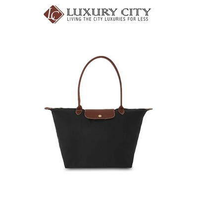 [Luxury City] Longchamp Le Pliage Small Tote Bag Black Longchamp-L2605089