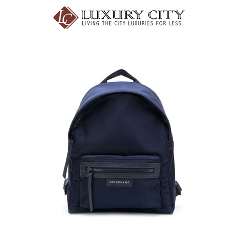 [Luxury City] Longchamp Top Zipped Backpack Navy/Dark Blue Longchamp-L1118578