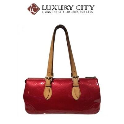 [Luxury City] Preloved Authentic Louis Vuitton Paint Leather Handbag
