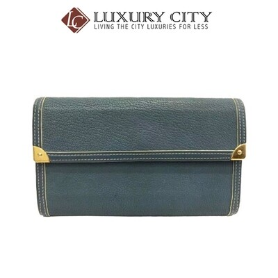[Luxury City] Preloved Authentic Louis Vuitton Leather Long Wallet