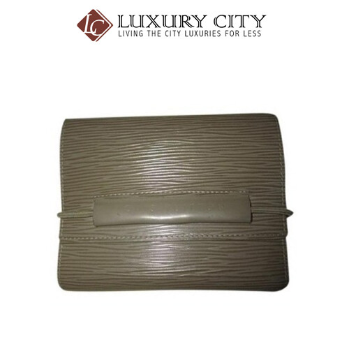 [Luxury City] Preloved Authentic Louis Vuitton EPI Leather Small Wallet