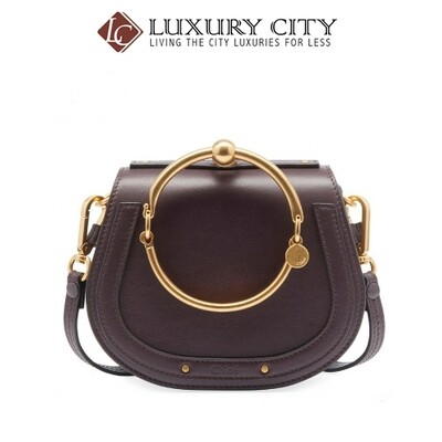 [Luxury City] Chloe Handbag Chloe-C17US301 (Dark Purple)